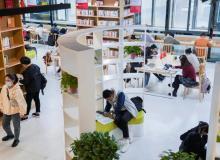 """藏书6.4万、数字资源数十万种:花果园""""城市书房""""开启全民阅读"""